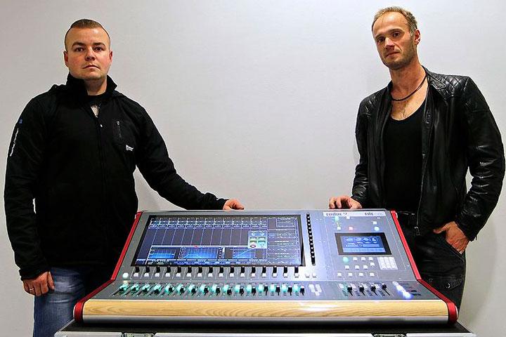 MCK Plonsk's Krzysztof Dembicki L and Tommex's Piotr Wosiek