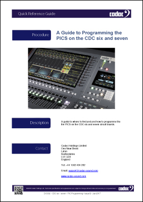 DOC02 - CDC six - seven - PIC Programming– Issue B - Jan 2017