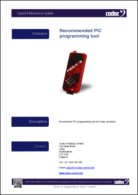 PIC programming tool