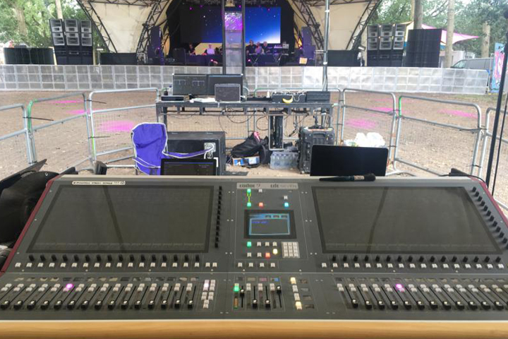 CDC seven at FoH on the Glade Stage Glastonbury 2017 - Day time