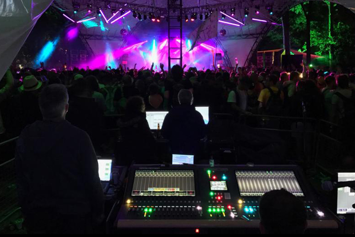 CDC seven at FoH on the Glade Stage Glastonbury 2017