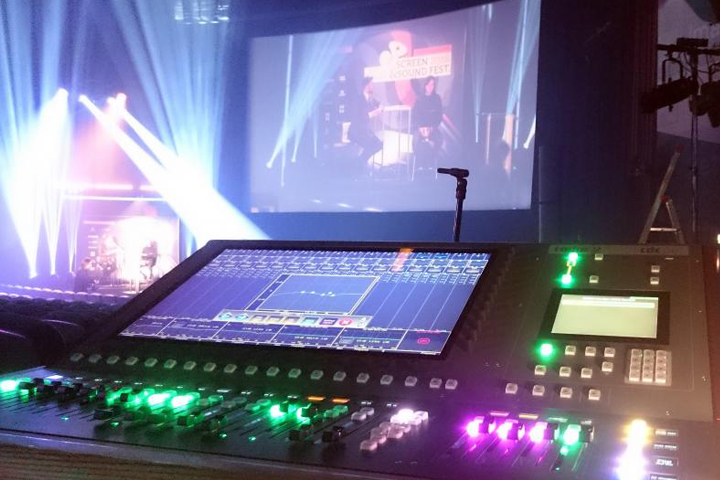 Cadac CDC six FOH Screen Sound Festival