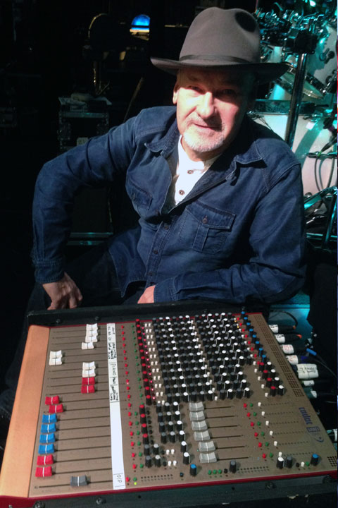 Paul Carrack and Cadac LIVE1
