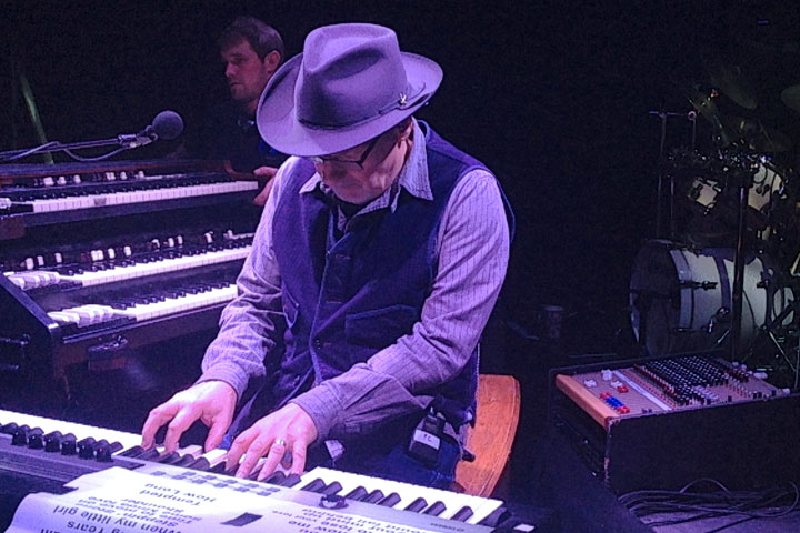 Paul Carrack performing with Cadac LIVE1