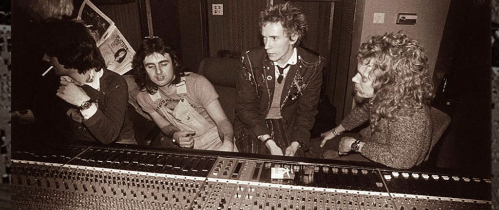 Sex Pistols at Wessex Studios