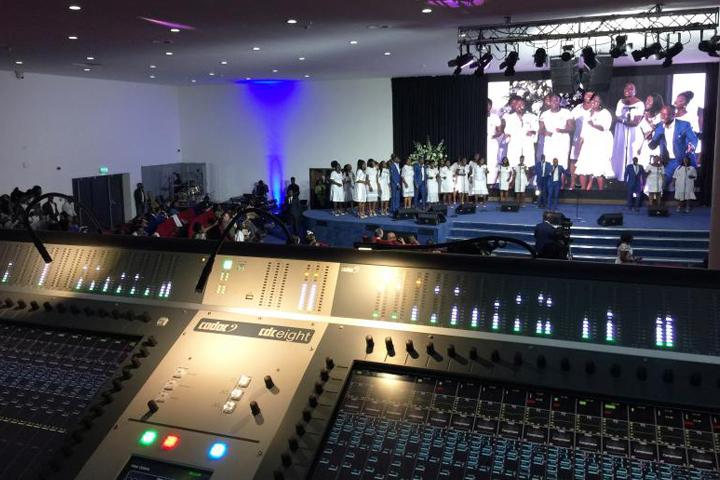 Trinity Baptist Church's CDC eight and choir