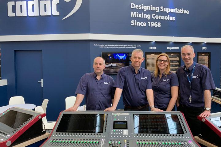 Cadac Prolight+Sound 2019 - Rob, Pete, Emily and James web