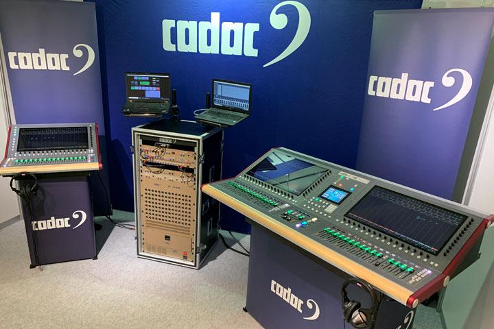 iscover the Cadac sound at PLASA Focus 2019