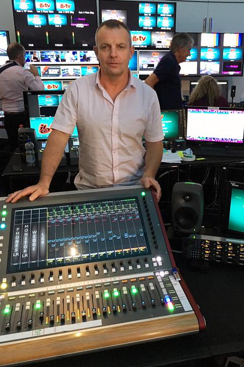 Pete Craigie Sound Supervisor CDC five IBC 2019