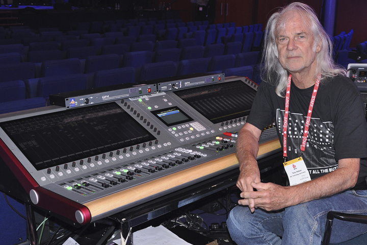 Terry Nelson CDC seven-s FoH IBC 2019